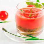 томатный сок при обострении