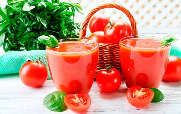 томатный сок при ремиссии