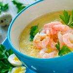 суп с креветками при панкреатите