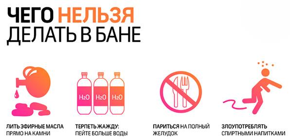 рекомендации для бани при панкреатите