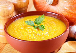 сладкий суп пюре