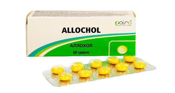 таблетки аллохол