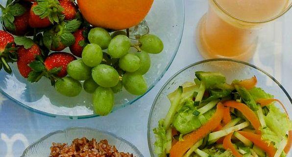 овощи в составе диете