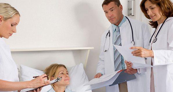 осмотр врачами