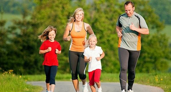 польза бега для всей семьи
