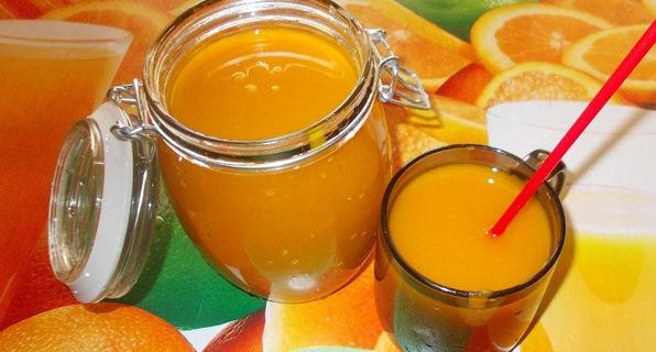рецепт тыквенного сока