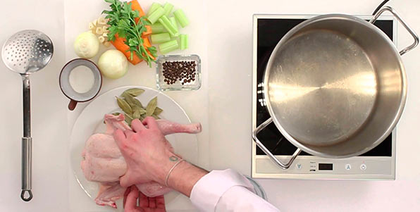 приготовление куриного бульона