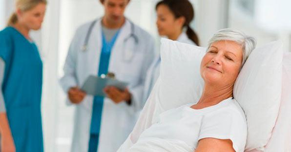 восстановление в больнице