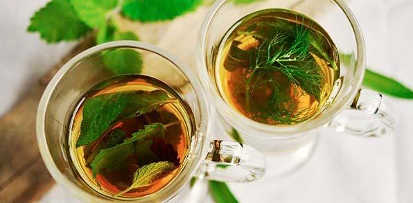 травяной чай от газов