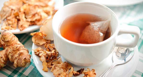 чай с топинамбуром