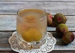компот из инжира с яблоком
