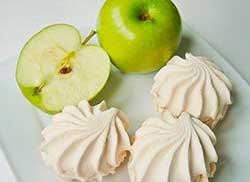 зефир на яблоке