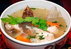 суп уха с петрушкой
