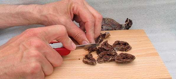 разрезанная струя бобра