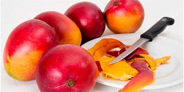 очищать манго