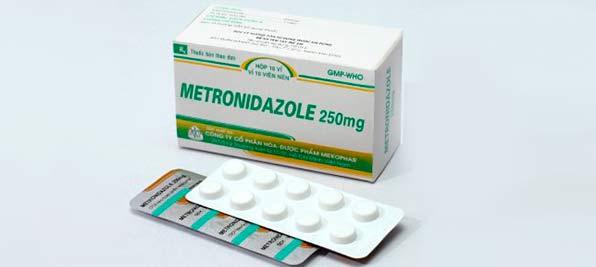 упаковка таблеток метронидазола