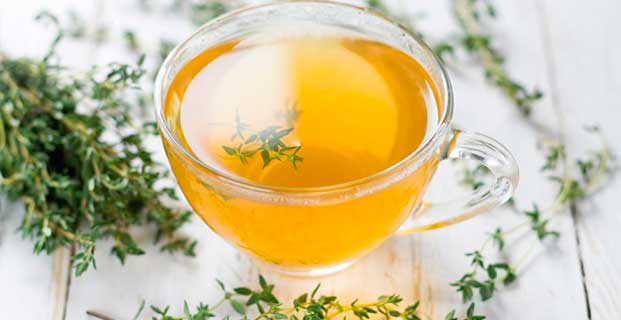 чай с тимьяном