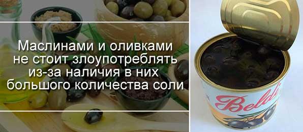 вред консервированных маслин