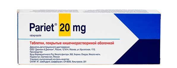 Pariet 20 mg
