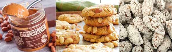 продукты с арахисом