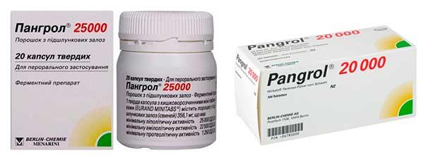 препарат Пангрол