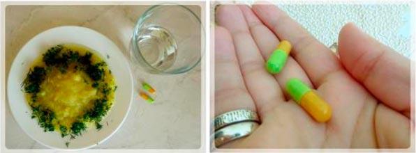 Прием препарата с пищей