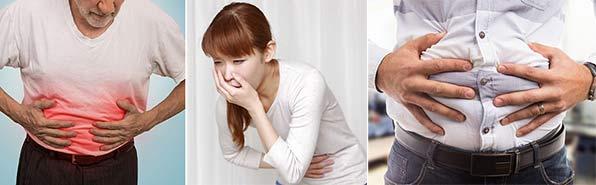 Вздутие и боли в животе