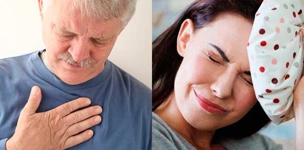 Изжога и головная боль