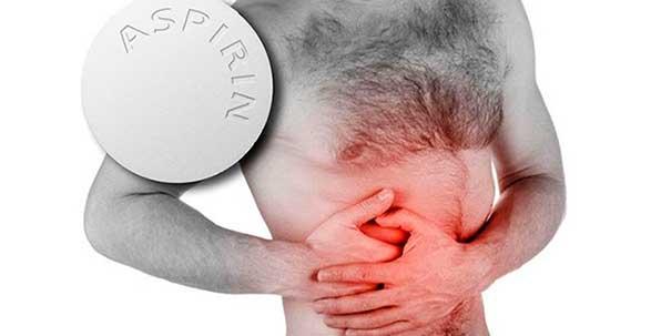 Аспирин и боль области ЖКТ